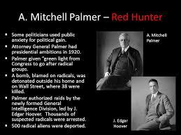 Image result for attorney general palmer
