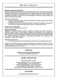 hotel engineer resume example httpresumesdesigncomhotel engineer sample hotel engineer resume