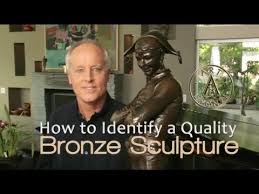 How to Identify a Quality <b>Bronze Sculpture</b> - YouTube