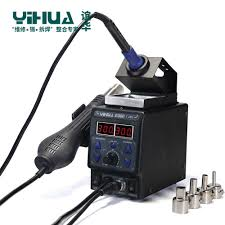 Detail Feedback Questions about 2 in1 Rework Station Hot Air Gun ...