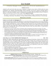 credit analyst resume   best resume collectionresume for credit analyst in a bank
