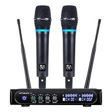 <b>G</b>-<b>MARK</b> GLXD4 Microphone Professional Dual Wireless ...