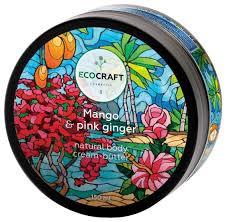 <b>Крем для тела</b> EcoCraft Манго и <b>розовый</b> имбирь — купить по ...