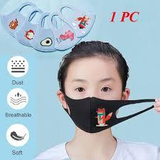 Kids Professional <b>Ventilation</b> Filter Bacteria <b>Reusable Washable</b> ...
