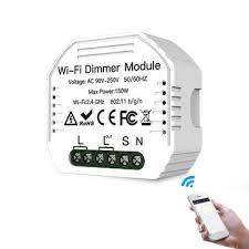 <b>MoesHouse MS-105 AC90-240V DIY</b> Smart WiFi Light LED Dimmer ...