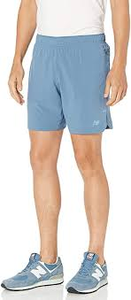 New Balance Men's <b>Q Speed Run</b> Crew Short Short: Amazon.co.uk ...