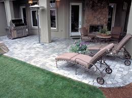 outdoor fireplace paver patio: concrete paver patio with outdoor fireplace