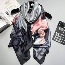 2018 <b>luxury</b> brand <b>Women Silk scarf</b> Beach Shawl and Echarpe ...