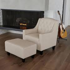 With <b>Ottoman</b> - <b>Accent Chairs</b> - Chairs - The Home Depot