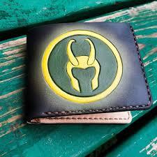 <b>Кошелек Marvel</b> - Loki Logo Custom [Handmade] Тор Локи Купить ...