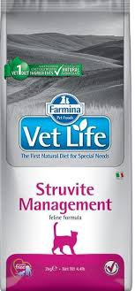 <b>Сухой корм Farmina Vet</b> Life Struvite Management cat купить от ...