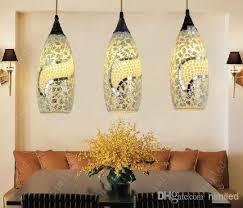 fashion bohemian chandelier droplight pendant peal lighting mediterranean garden bar table lamp light for foyer entrance hallway bohemian lighting