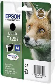 Картридж <b>Epson T1281 C13T12814012 черный</b> купить в Москве ...