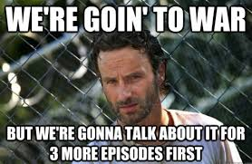 "The Walking Dead season 3 episode 13 - ""Arrow on the Doorpost ... via Relatably.com"