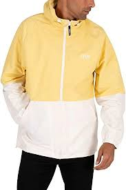 <b>Levi's</b> Men's <b>Marina Windbreaker Jacket</b>, Yellow, S: Amazon.ca ...