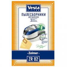 <b>Комплект пылесборников Vesta filter</b> ZR 02 Zelmer