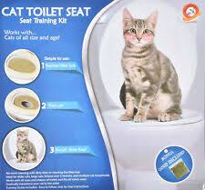 Сиденье для приучения к туалету кошачий наполнитель коробки ...