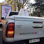 Toyota Hilux es el vehículo que transporta la llama Olímpica de la ...