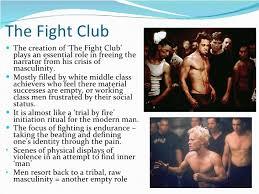 masculinity in fight club       the fight club
