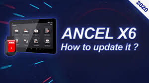 How to update <b>Ancel X6 OBD2</b> Scanner | 2020 - YouTube