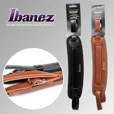 Ibanez GSRN50 <b>Vintage</b> Standard <b>Guitar Strap</b>, Black/Brown Available