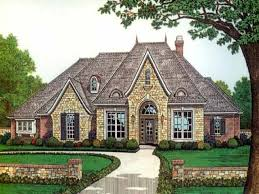 French Country House Plans One Story French Country Louisiana