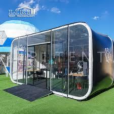 <b>6m</b> Modern Modular Glamping Capsule Box Hotel Tents for <b>Sale</b>