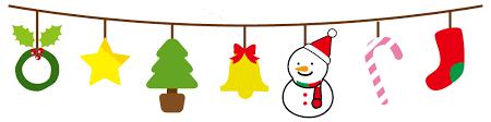 「無料イラストライン クリスマス」の画像検索結果