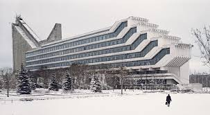 Futuristic Architecture: Polytechnic Institute of Minsk – Soviet Visuals