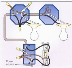 lighting fixture wiring diagram electrical how to connect multiple light fixtures to one switch enter image description here