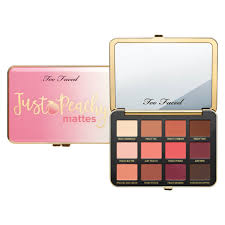 <b>Just</b> Peachy Velvet Matte Eyeshadow Palette - <b>Too Faced</b> | MECCA