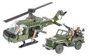 <b>Конструктор</b> пластиковый <b>COBI</b> Джип и вертолет Jeep Willys and ...