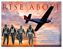 our mission in action red tail squadron rise above poster