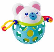 <b>Погремушка BONDIBON</b> Мишка — купить по выгодной цене на ...