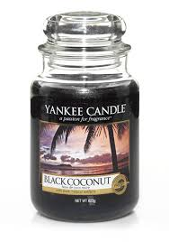 Yankee Candle <b>Свеча ароматическая</b> Чёрный Кокос <b>Black</b> ...