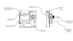 Плата-<b>модуль</b> для интернет-радиоприемника WOLNA