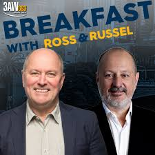 3AW Breakfast with Ross and Russel