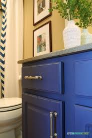 Paint Grade Cabinets Bathroom Vanity Makeover Using Country Chic Paint Life On