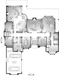 San Jacinto Florida Style Home Plan D    House Plans and MoreWaterfront House Plan First Floor   D    House Plans and More