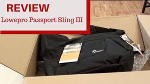 Review <b>Lowepro Passport Sling III</b> - YouTube