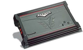 kicker zx750 1 mono subwoofer amplifier 750 watts rms x 1 at 2 kicker zx750 1 front