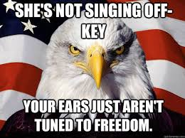 Patriotic Eagle memes | quickmeme via Relatably.com