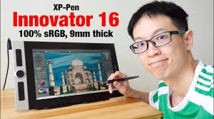 Review: <b>XP</b>-<b>Pen Innovator 16</b> Pen Display is SOOOooo thin