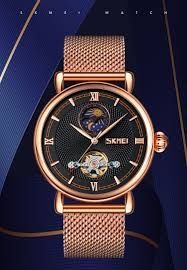 <b>SKMEI Automatic Mechanical</b> Watch <b>Men</b> Fashion Hollow <b>Automatic</b> ...