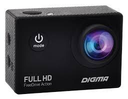 <b>Видеорегистратор Digma FreeDrive Action</b> Full HD черный купить ...