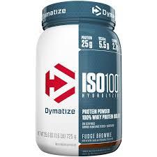 <b>Iso 100</b> - Fudge Brownie (1.6 Pound Powder) by Dymatize Nutrition ...