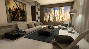 post high living room