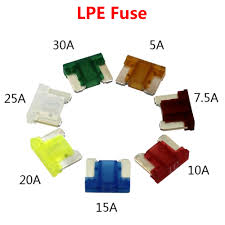 <b>10PCS</b> 5A/7.5A/10A/15A/20A/25A/<b>30A</b> Mini LPE Car fuse Original ...
