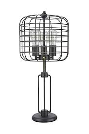 Aspen <b>Creative</b> 40086, Wire <b>Cage</b> Metal Table Lamp, Vintage ...