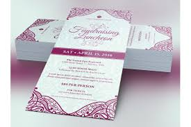 fundraising luncheon flyer template by design bundles fundraising luncheon flyer template example image 2